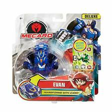 Mecard Evan Deluxe - Transforming Robot to Toy Car Kids