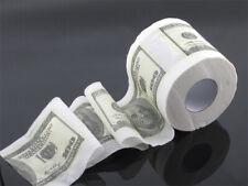 $100 Hundred Dollar Toilet paper Rolls US Money Bathroom Tissue Joke Novelty