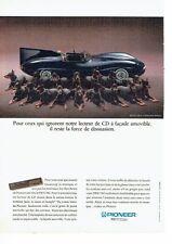 Publicité Advertising 087  1991  Pioneer  lecteur cd DEH 760