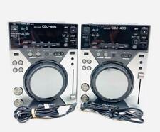 Pair of Pioneer CDJ 400 With MP3 USB Digital Turntables