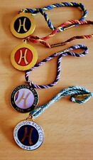 More details for collection of four horseracing huntingdon race club members badges 96 95 94 93