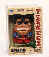 "2017 Cryptozoic 3"" DC Comics Superman Teekeez Stackable Vinyl Tiki Figure NEW"