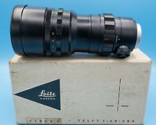 LEICA TELYT 280mm F4.8 CANADA with ORIGINAL NUMBERED BOX