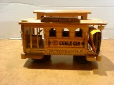 Spieluhr Straßenbahn Cable Car San Francisco - Holzmodell (1)