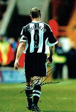 Alan SHEARER Signed Autograph 12x8 Photo AFTAL COA Newcastle United Magpies NUFC
