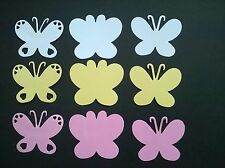 18x Butterfly Die Cuts (Sizzix )- Cards,Wedding - White / Yellow / Pink or Mixed