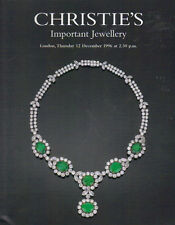 CHRISTIE'S LONDON JEWELS Belle Epoque Deco Coll Cartier Kutchinsky Wilm Cat 1996