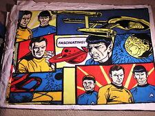 STAR TREK Capt Kirk Spok Bones Fleece Scarf XXtrWide Beam me up Scotty!!