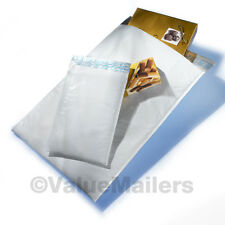 100 #0 Poly Quality DVD Bubble Envelopes Mailers Bags 6x10