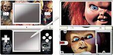 Nintendo DS Lite-Chuckie - 4 pièces Autocollant Vinyle Peau Autocollant /
