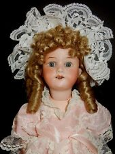 "Antique 14"" Armand Marseille 390 A 2/0 M Bisque Head Doll"