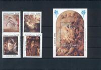 Art Paintings Rubens Sierra Leone MNH stamps set