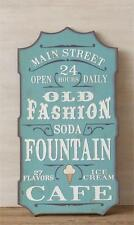 """New Antique Style Advertising OLD FASHIONED CAFE Wood Plaque Sign 30"""""""