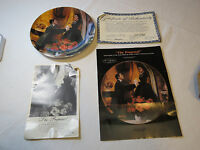 Gone With The Wind The Proposal 1988 COA Collector Plate Golden Anniversary#%