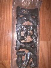 Vintage Plastic Dark Wood Looking Keys Hook Hanger Decor New