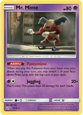 Pokemon -  Detective Pikachu - Mr. Mime - 11/18 - Holo rare - NM/M