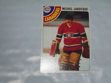 michel larocque (montreal canadiens -goalie) 1978/79 topps card #158 nr/mint