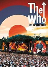 The Who Live in Hyde Park DVD NTSC Region 2
