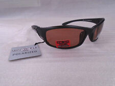 Ugly Fish Polarised Sunglasses PC44118 Lightning Black Frames With Brown Lens