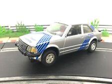 Scalextric Car Ford Escort XR3i Silver C345 Slot Car