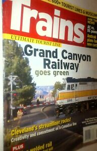 Trains Magazine May 2010: GCRY/Grand Canyon Railway, Cleveland Streamliner +more