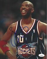 Sam Cassell Signed 8x10 Photo JSA COA Autograph NBA Houston Rockets Posed #1