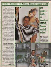 Coupure de presse Clipping 1988 Jean Loup Lafont  (1 page)