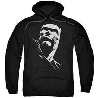 BATMAN DKR HEAD Licensed Adult Hooded and Crewneck Sweatshirt SM-5XL