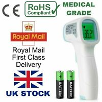 Infrared Digital Thermometer Medical Non-Contact Forehead Baby/Adult Fever UK