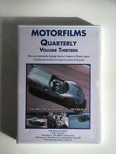 MOTORFILMS QUARTERLY - Volume Thirteen - DVD OOP