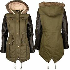 No Pattern Polyester Coats & Jackets Plus Size for Women
