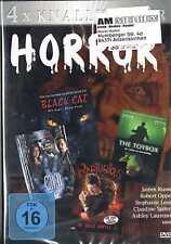 4x Knallharter Horror Black Cat /  Chill / The Toybox / Raptubious DVD BOX NEU