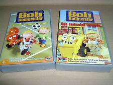 Bob der Baumeister, 2 VHS: Bob und seine Freunde + Sport macht Spaß, 2x 40 Min.