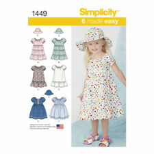simplicity Toddler Dress Sewing Patterns