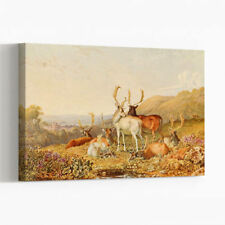 Canvas Vintage Landscape Art Prints