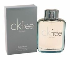 Ck Free Calvin Klein Men 3.4 OZ 100 ML Eau De Toilette Spray Nib Sealed