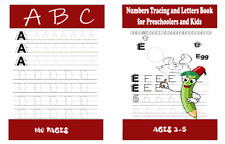 Number Tracing and Letters Book for Preschoolers and Kids Ages 3-5