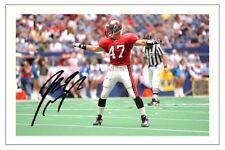 John Lynch Tampa Bay flibustiers Photo dédicacée Autographe Print NFL Football