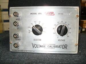 EICO 495 voltage calibrator
