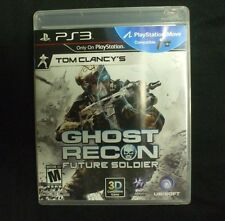 Replacement Case (NO GAME)  GHOST RECON FUTURE SOLDIER PLAYSTATION 3 PS3