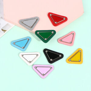 DIY Embroidery Stickers Triangular Sew Patches for Clothing Sequin Patch BadHF