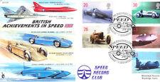 CC59 RAF aircraft + Bluebird Car & Boat 1998 Speed Carmarthen FDC