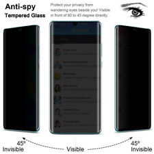 For Huawei P40 P30 Pro P20 Lite Privacy Anti-Spy Tempered Glass Screen Protector