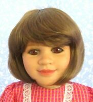 Global SUZI Auburn Full Cap Doll Wig Size 13-14 - Medium Bob