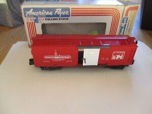 American Flyer LTI TCA 1981 boxcar (11/29/17)