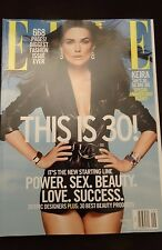 ELLE MAGAZINE - Keira Knightly - Biggest Fashion Issue- SEPTEMBER 2015  no label
