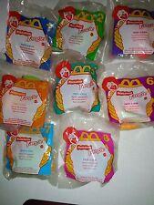 McDonald's Happy Meal Toys Nickelodeon TANGLE Twist-A-Zoid Set of 8 NIP NEW  b69