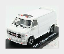 Gmc Vandura Van Custom 1983 White GREENLIGHT 1:43 GREEN86326
