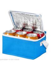 Kühltasche klein & handlich für 6 Dosen  Kühlbox hellblau
