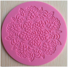 Doily (Floral / Flower) Lace Silicone Mat or Mold - Molds from Bakell